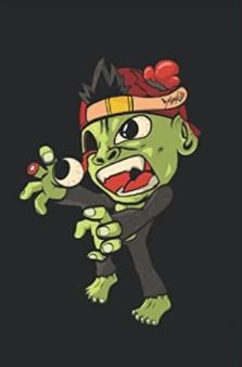 Notizbuch - Halloween Zombie Horror