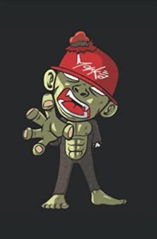 Notizbuch - Zombie Horror Gruselig