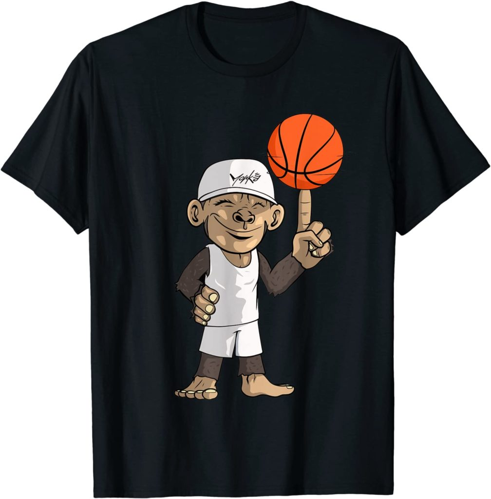 Basketball Affe Sport Basketballspieler