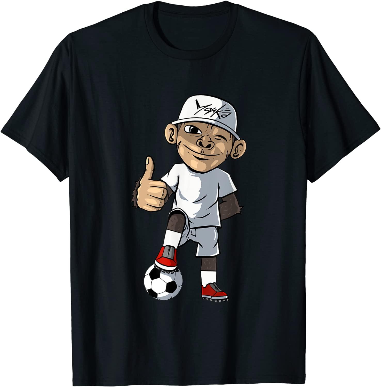 Fußball Fußballer Affe Fußballspieler - Standard T-Shirt