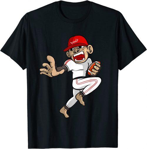 American Football Affe - Standard T-Shirt