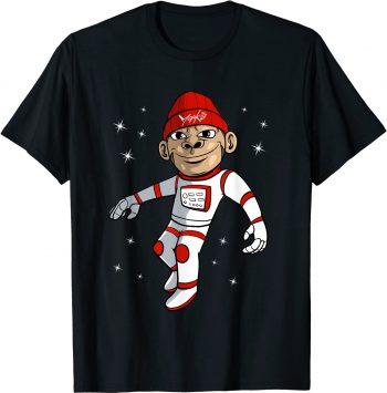 Astronaut Affe Astronautenanzug Weltall