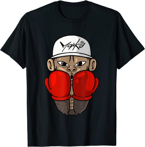 Boxer Affe Boxen Boxhandschuhe Boxsport - Standard T-Shirt