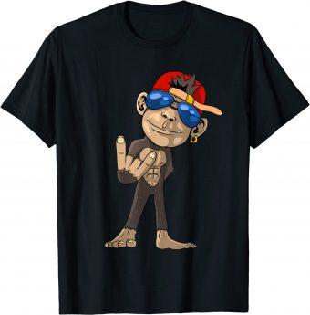 Cooler Affe - Let_s Rock T-Shirt
