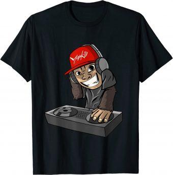 DJ Affe Discjockey - Standard T-Shirt