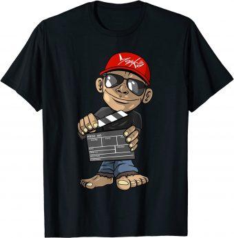 Filme Affe Filmklappe Kino Filmemacher - Standard T-Shirt