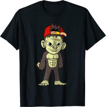 Frankenstein Affe Halloween Monster Horror Gruselig