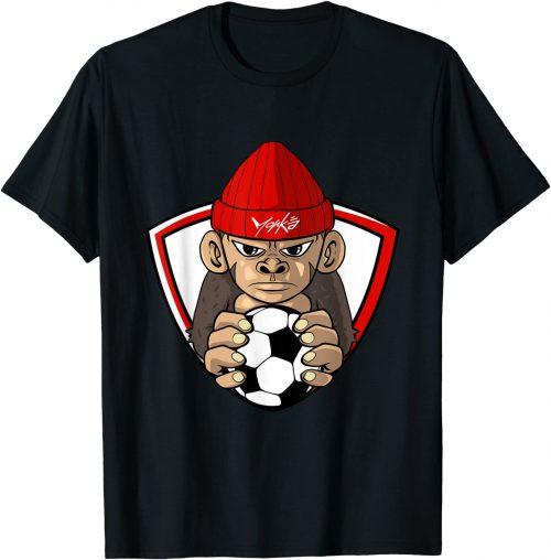 Fußball Affe Fußballspieler