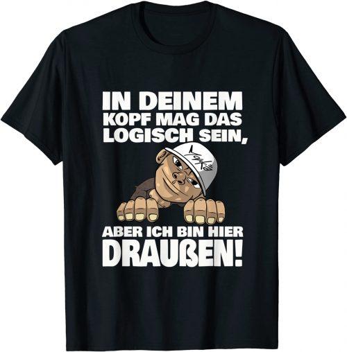 In deinem Kopf mag das logisch sein Affe - Standard T-Shirt
