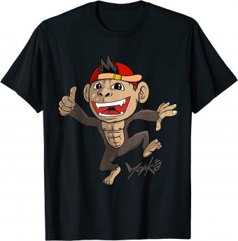 Affe freut sich tierisch T-Shirt