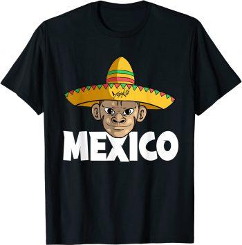 Mexico Affe Sombrero Mexikaner