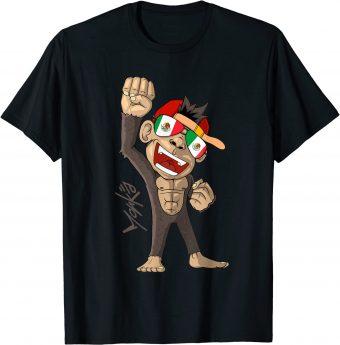 Mexiko Flagge Fan T-Shirt