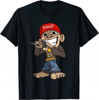 Rapper MC Hip Hop Sänger - Standard T-Shirt