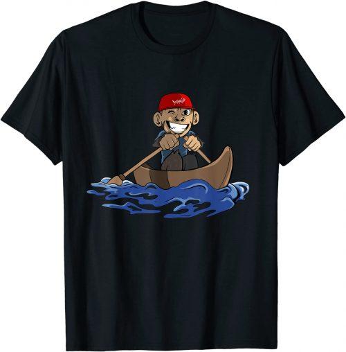 Ruder Affe Ruderboot Ruderer