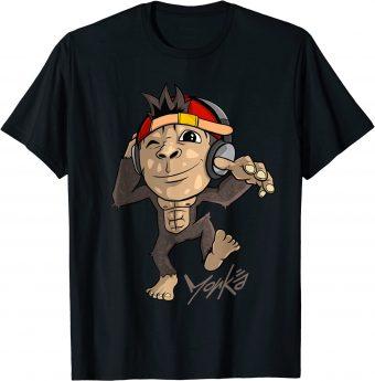 Süßer Affe - Discjockey mit Kopfhörer - Standard T-Shirt