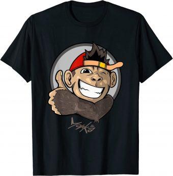 Süßer Affe zeigt den Daumen nach oben - Standard T-Shirt