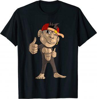 Süßer Affe_ Daumen hoch_ Alles Okay T-Shirt