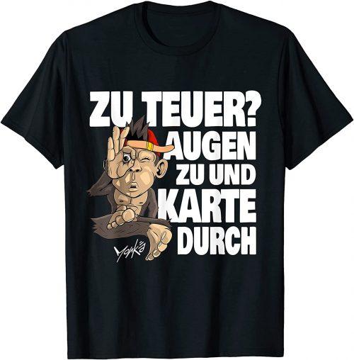 Witzig Einkaufen Shoppen Affen - Standard T-Shirt