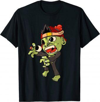 Zombie Affe Horror Gruselig Halloween